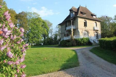 Maison familiale vue mer & campagne - Sallenelles - Dom