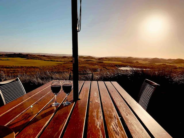 Enjoy a round of Golf at Barnboughle or Lost Farm and then maybe onto the 19th Tee?