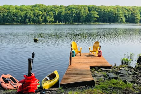 Beautiful Lakefront Home with Private Dock