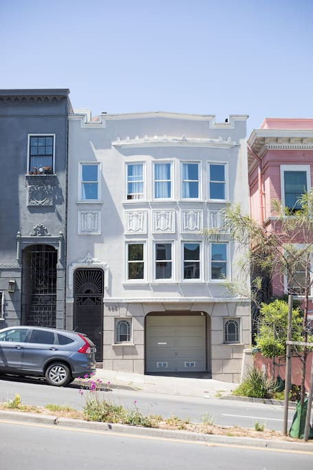 Explore San Francisco from this 2000 square foot single family residence.