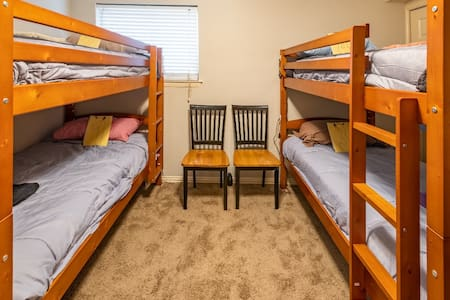 Cozy crash pad with Bunk Bed near DFW Airport #3