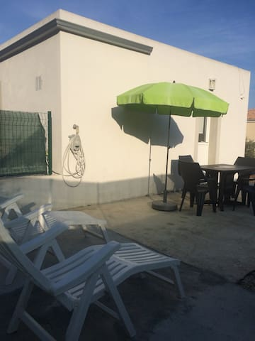 Nice studio beach Furiani - Furiani - House