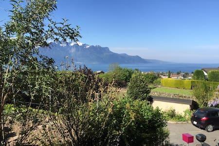 La Tour-de-Peilz- séjour entre lac et montagne - La Tour-de-Peilz - Wohnung