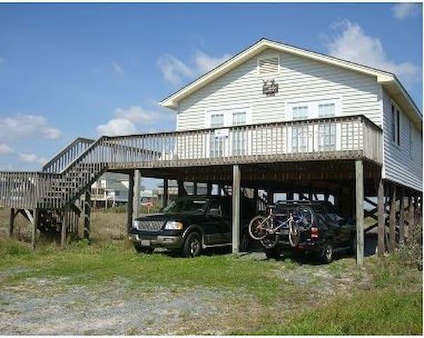 1518 Ocean Blvd Topsail Beach NC - Topsail Beach - House