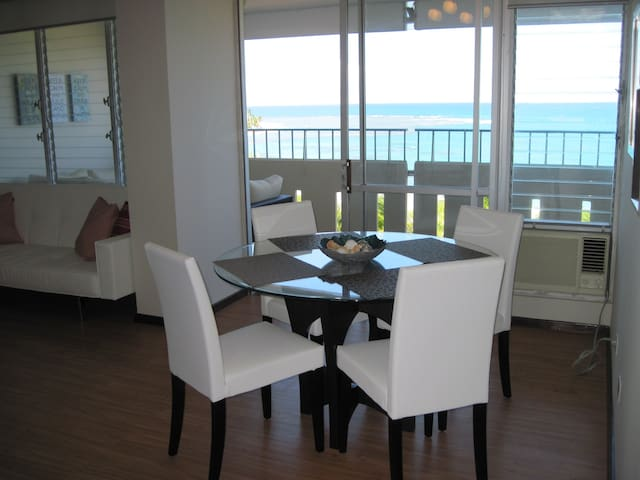 Beautiful beach front apartment