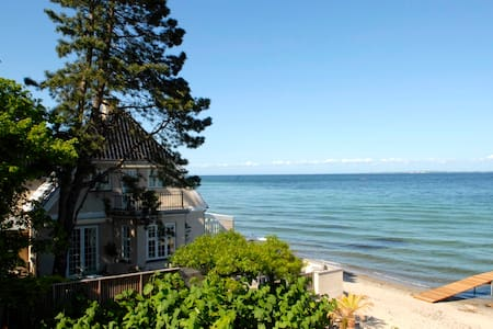 luxury beach house 15 km from CPH - Skodsborg