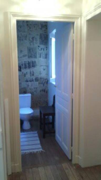 Toilettes privés
