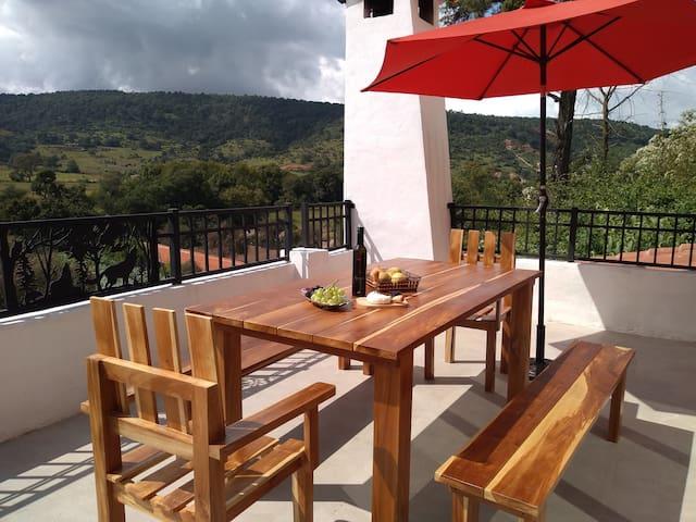 Loft campestre en Tapalpa con hermosa vista !!