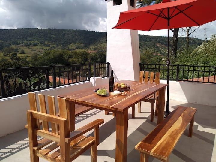 Agriturismo - Loft en Tapalpa con hermosa vista !!