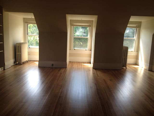 Fabulous loft in mansion, w/parking - Pittsburgh - Leilighet