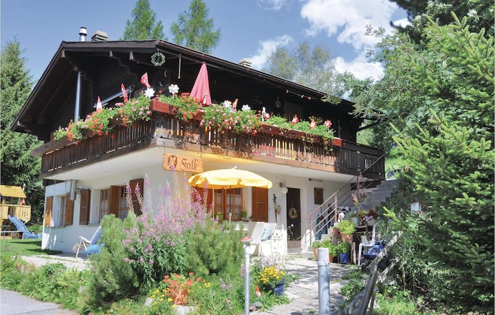Beautiful apartment in Bürchen with WiFi and 2 Bedrooms