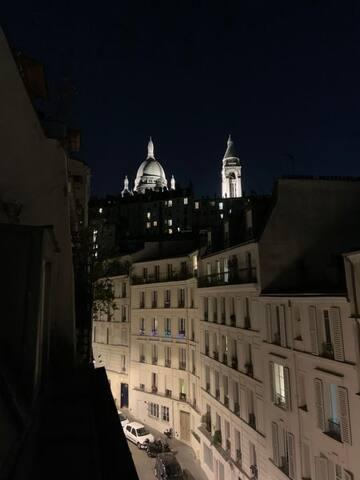 Studio 15m² Montmartre.