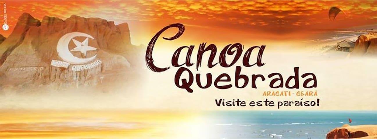 Casa p temporada - Canoa Quebrada - บ้าน