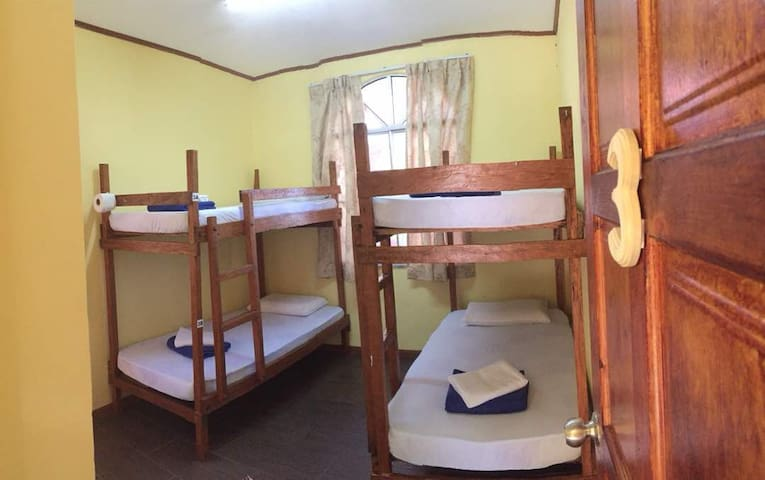 1 BED IN 4 BEDS MIXED DORMITORY ROOM
