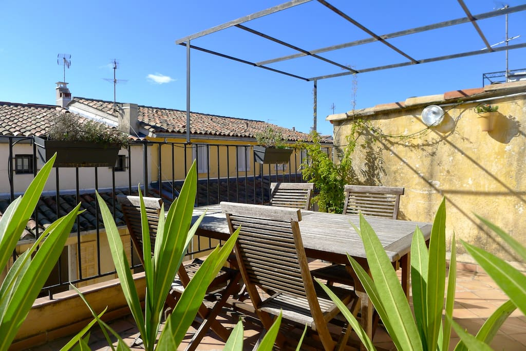 Chambre sdb priv e acc s terrasse appartements louer aix en provence provence alpes - Chambre d agriculture aix en provence ...