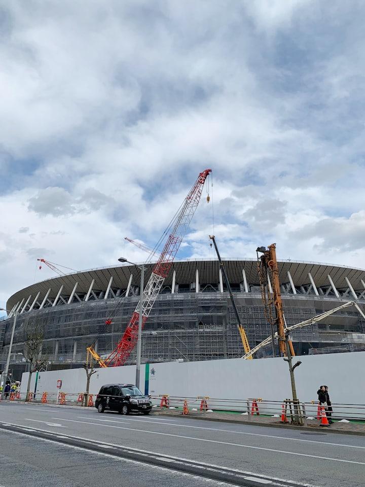 2020 Olympic National Stadium (Nov.2019)