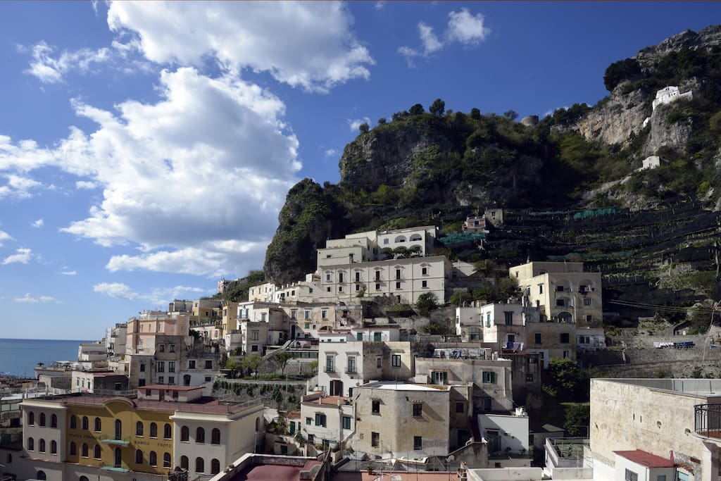 Atrani pompeo amalfi coast apartments for rent in for Apartments amalfi