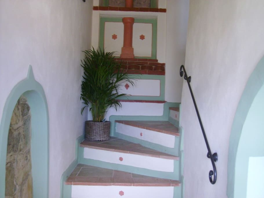 The stairs that will lead you up to enchantment.