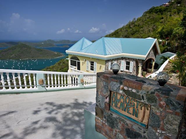 Almost Heaven in St. John - Coral Bay - Villa