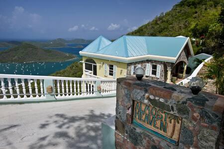 Almost Heaven in St. John - Villa