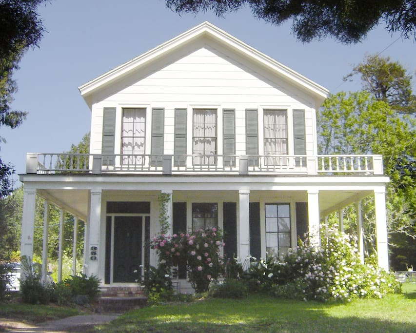 The historic James & Julia McCormick House built in 1868.