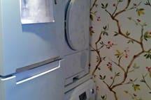 Fridge, washing machine and dryer