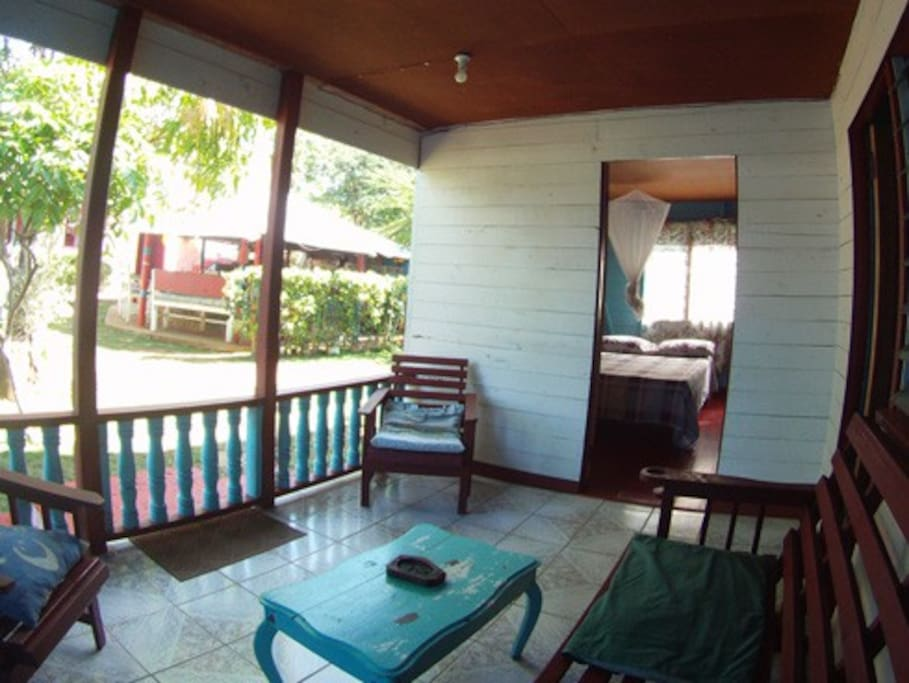 Veranda from the family cottage
