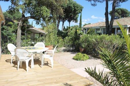 "Quiet ""Palm House"" by St Tropez"
