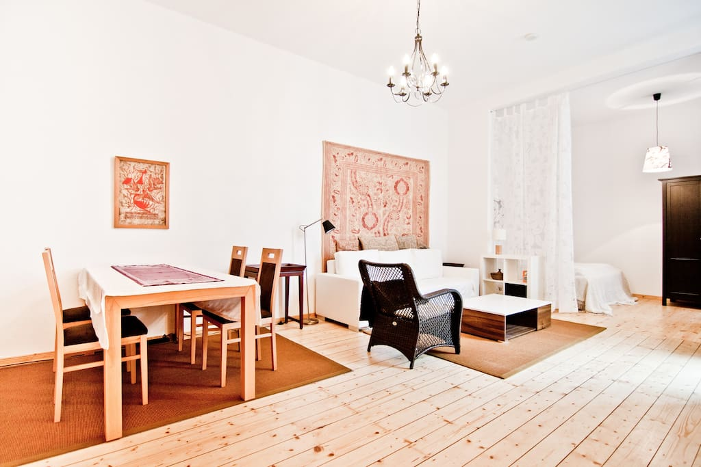 Lovely Kollwitzplatz-Apartment