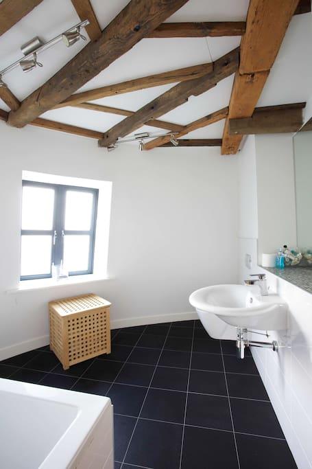 En-suite to Guest Bedroom Suite in the Windmill