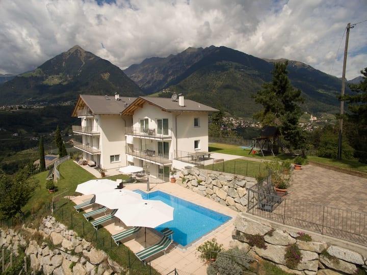Residence Fiegl - Urlaub auf Wolke 7 in Schenna