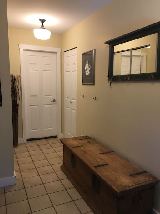 Front entryway / hall closet