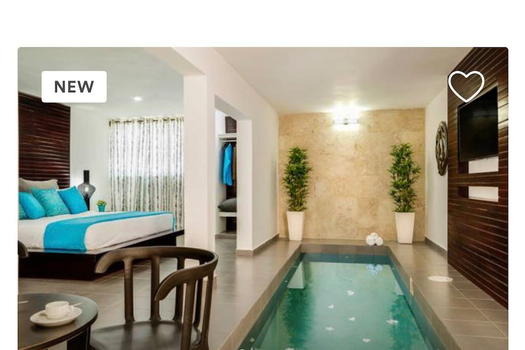 Luxurious Pool Room Suite
