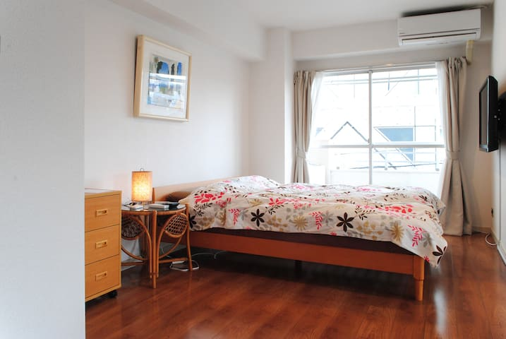 Remodeled apartment in Nakameguro - 目黒区 - Apartamento