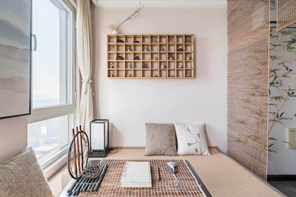 木岚舍  入住日式简约风河景房,来体验悠闲的禅意生活