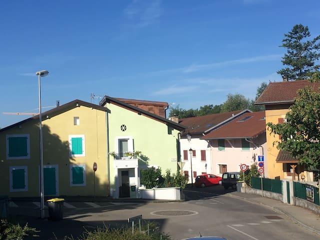 Beautiful house in leafy well-connected Gva suburb - Gaillard - Casa