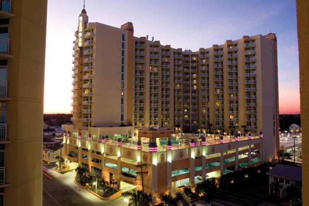 Wyndham Ocean Boulevard In A 2 Bedroom Condominiums For Rent In North Myrtle Beach South