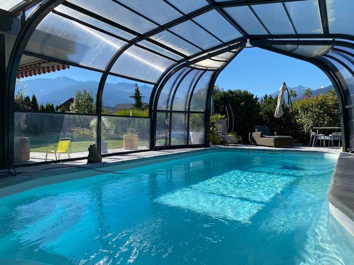 O Rendez Vous piscine chauffée maison mitoyenne