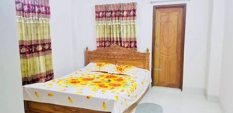 Acomodação Luxury Brilhante e Espaçosa em Daca