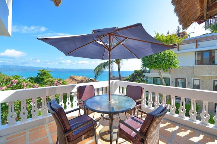 Roseball玫瑰球 浪漫温馨的空间 幽静的海陆景观露台