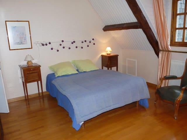 Chambres privées, vue imprenable sur la vallée - Cauterets - Muu