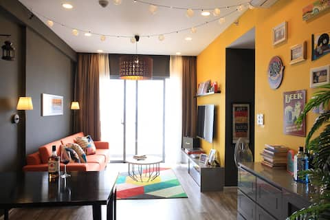 -25% Monthly*Stylish 2BR Next to Mall*Sunset View