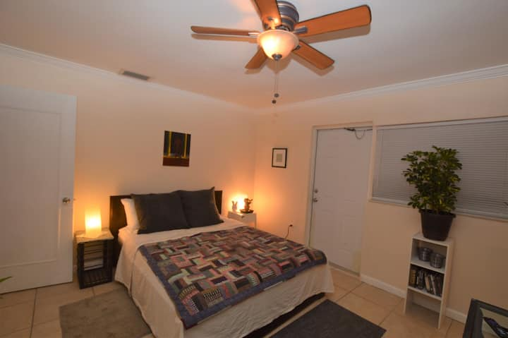 Master suite available in duplex.