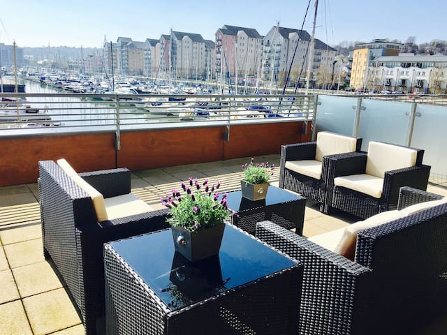 Marina View, Portishead, Bristol. - Portishead - Apartment
