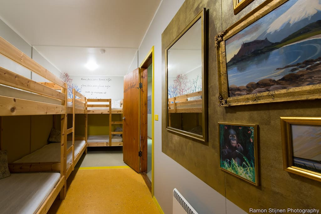 Hulduból - A 6 person dorm designed by Mekkín, inspired by tales of elves and hidden people