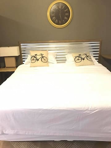 Your Base Camp for Adventures! Bicycle Themed King Suite - Garden of the Gods - Pike's Peak - Manitou Springs - Old Colorado City - Cave of the Winds - Cliff Dwellings -Hot Springs