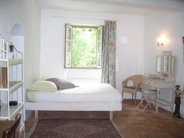 Treille room - B&B in a 1650's farm - Cros - Bed & Breakfast