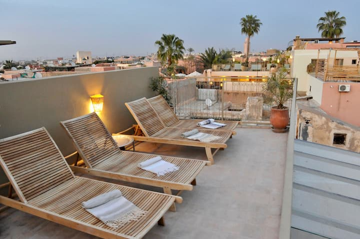 Private riad in Medina Marrakech