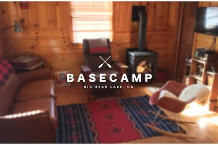 BASECAMP + BIG BEAR LAKE + CABIN - Big Bear Lake - Dům