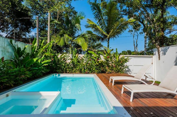 Barra do Una: Fantastic Beach House - São Sebastião - Ev